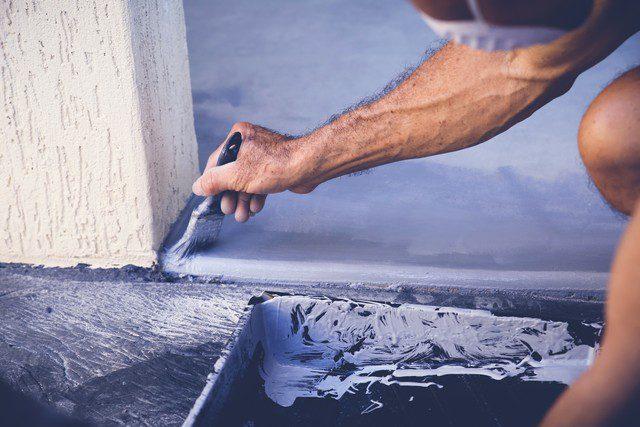 måla garagegolv