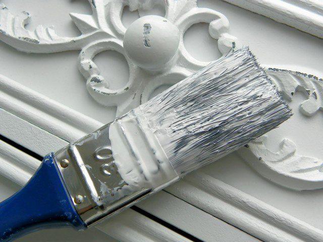 måla shabby chic möbler