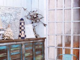 målade shabby chic möbler