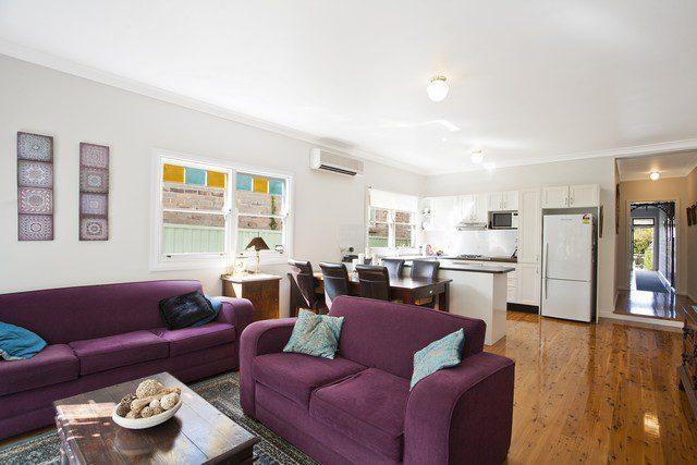 möblera vardagsrum - här med köket