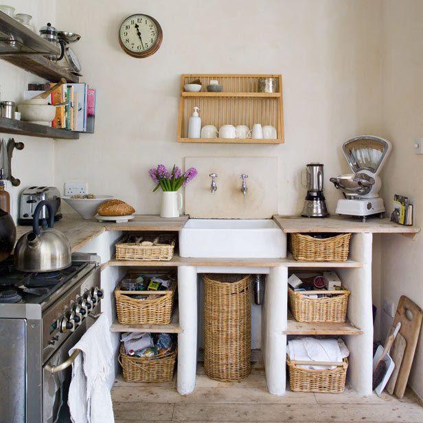 ett litet kök