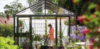 lättskött växthus