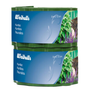 Weibulls Kantlist grön  10cm x  9m