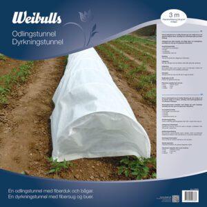 Weibulls Odlingstunnel 3m