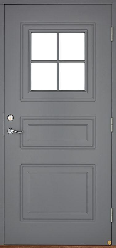 Säkerhetsklassade ytterdörrar i trä