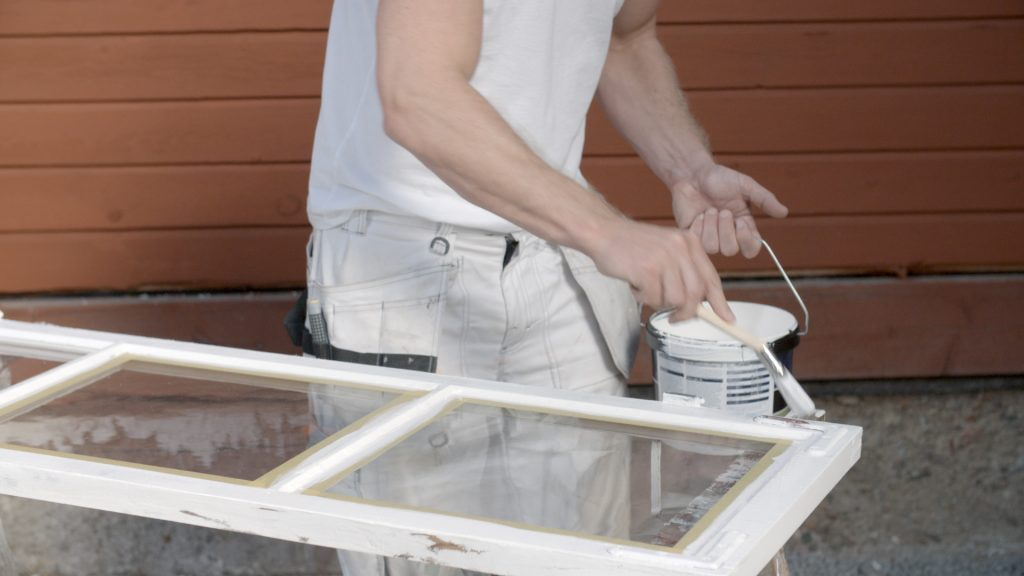 måla dina fönster