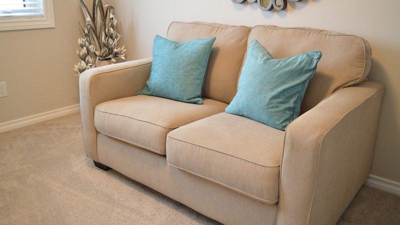 klädsel soffa