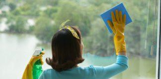 Fönstertvätt för rena och fina fönster