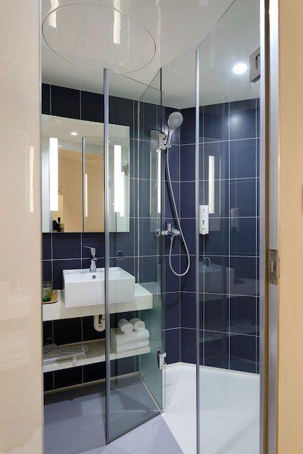 rengöra dusch