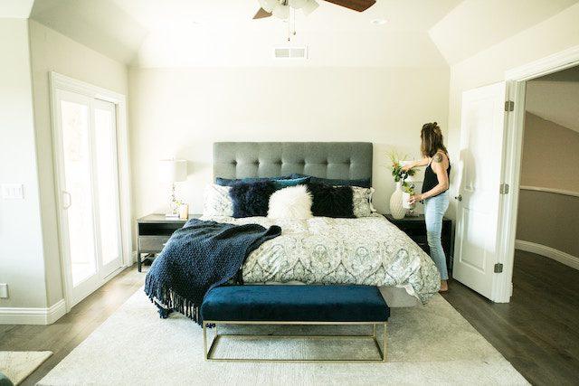rensa sovrummet