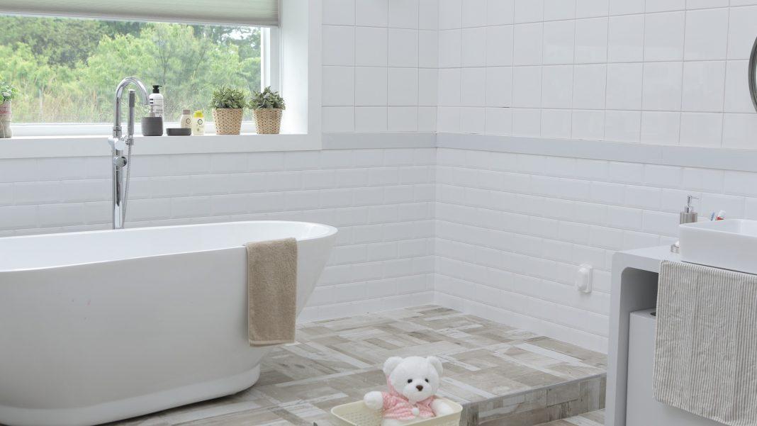 familjevänligt badrum