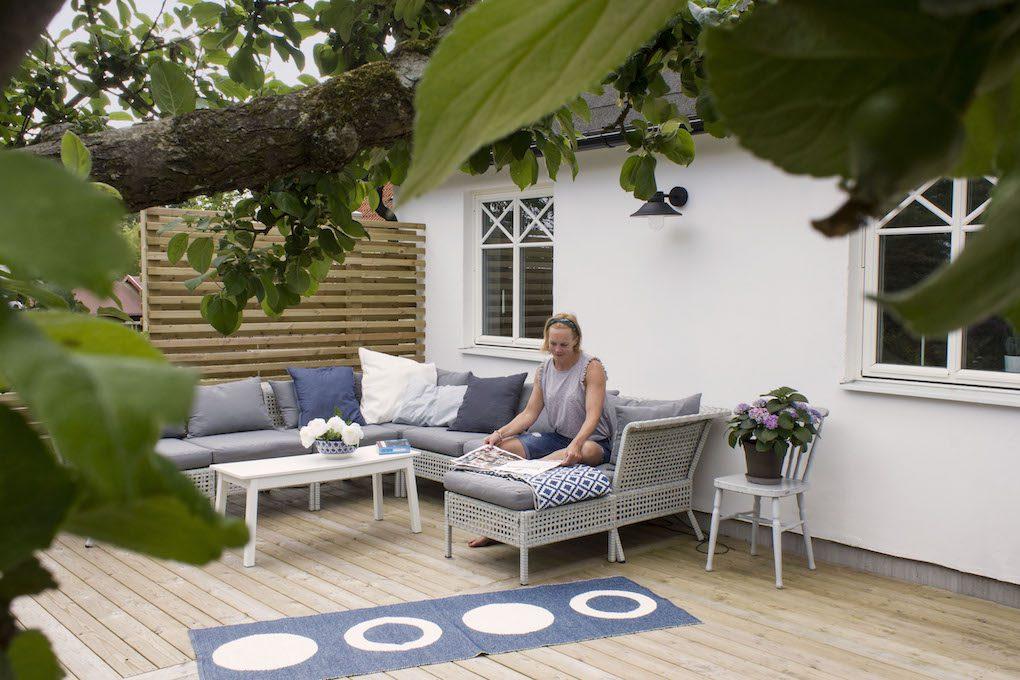 Bygg fritidshus med murblock