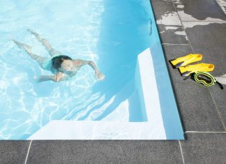 mura din pool