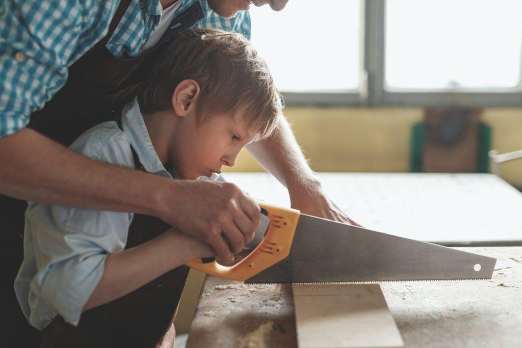 Roliga saker att bygga med barn